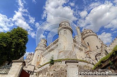 Castle chateau de pierrefonds