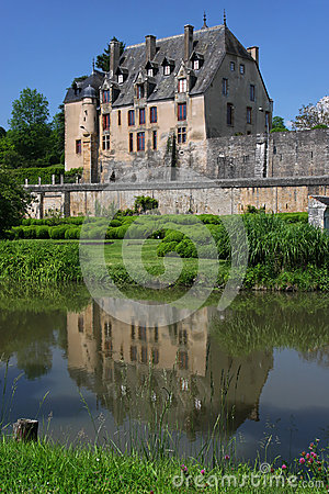Castle in Chatillon