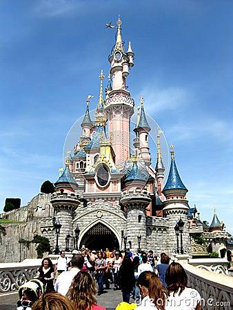 Castle of Cinderella Editorial Photo