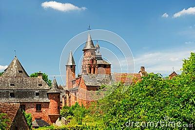 Castle in Collonges la rouge