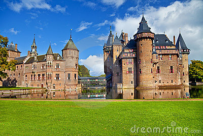 Castle De haar Editorial Stock Image