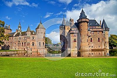 Castle De haar Editorial Stock Image