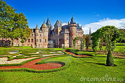 Castle De haar - Netherlands Editorial Stock Image