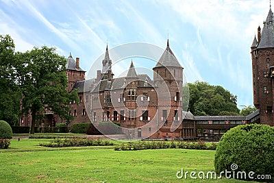 Castle De Haar, Netherlands Editorial Stock Photo