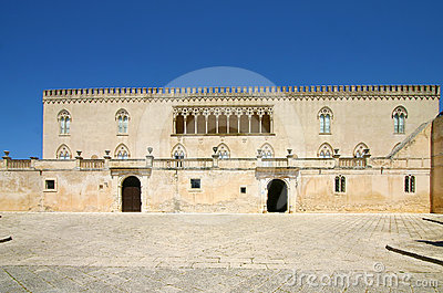 Castle of Donnafugata in Sicily