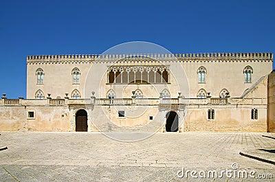Castle of Donnafugata in Sicily