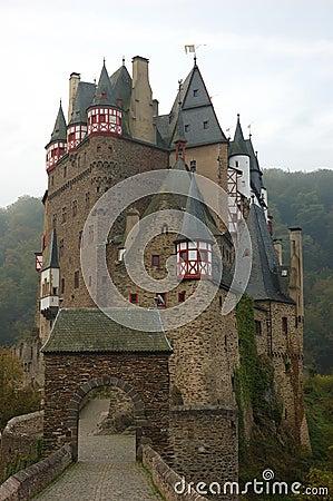 Free Castle Eltz Royalty Free Stock Photography - 1397057