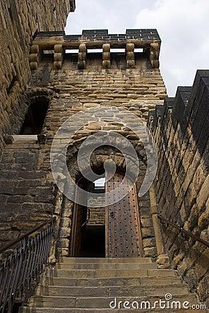 Free Castle Entrance Stock Photography - 981922