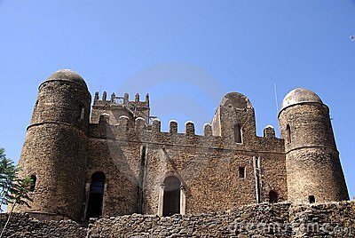 Castle in Ethiopia