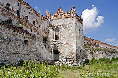 Castle-fortress in Stare Selo