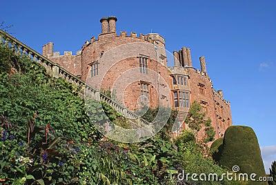 Castle and garden Stock Photo