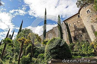 The castle of Girona