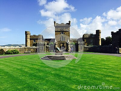 Castle On Green Lawn Free Public Domain Cc0 Image