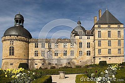 Castle Hautefort Dordogne France