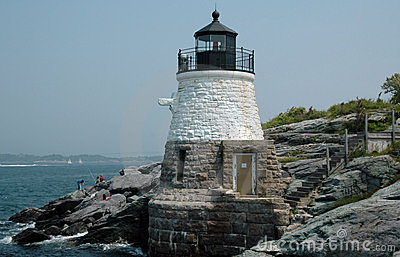 Castle Hill Light House,  Newport, RI