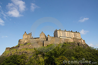 Castle of Historic Edinburgh