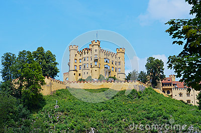 Castle Hohenschwangau, Germany 1