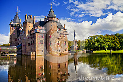 Castle of Holland Editorial Stock Photo