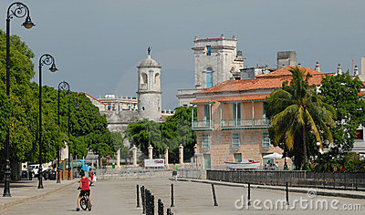 Castle and Houses of Havana
