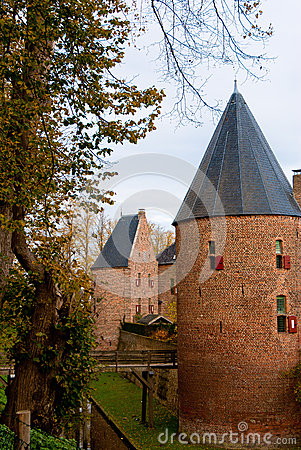 Castle huis ten berg