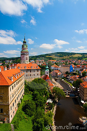 Free Castle In Cesky Krumlov (Czech Republic) Royalty Free Stock Images - 15728019