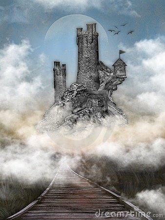 Free Castle In The Clouds Stock Images - 7275024