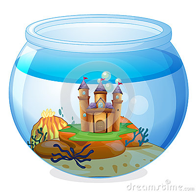 A castle inside the jar
