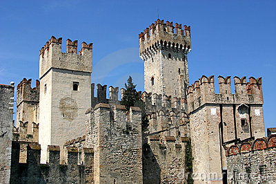 Castle in Italy - Sirmione