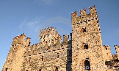 Castle in Italy - Sirmione, Lago di Garda