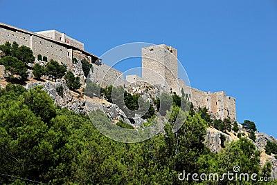 Castle, Jaen, Spain.