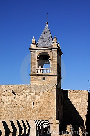 Free Castle Keep, Antequera, Andalusia, Spain. Royalty Free Stock Image - 24088936