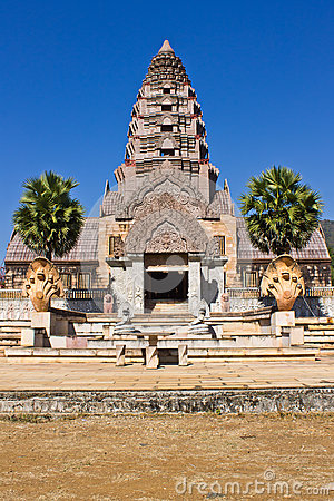 Castle of Khmer art in Thailand
