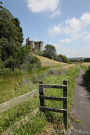 The Castle at Kidwelly