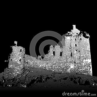 Castle Kilchurn ruins