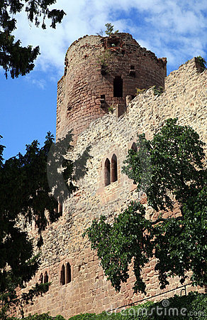 Castle in Kintzheim – Alsace, France