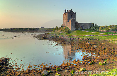 Castle in Kinvara in Ireland