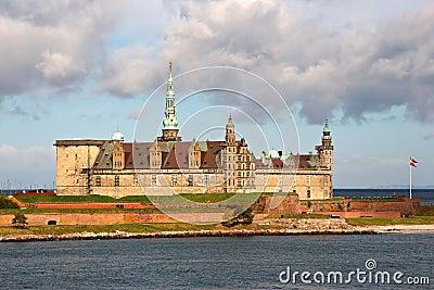 The Castle Kronborg. Denmark