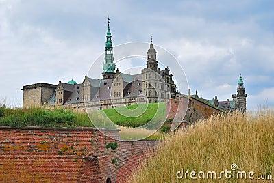 Castle Kronborg in Elsinore
