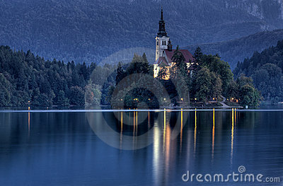 Castle on the lake, Bled