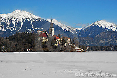 Castle and lake Bled