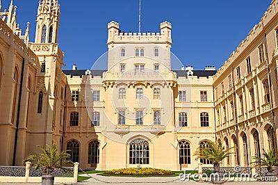 Castle Lednice,UNESCO heritage site