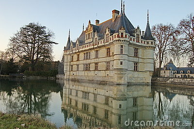 Castle of Azay le Rideau, Loire Valley, France