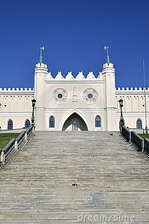 Castle of Lublin in Poland.