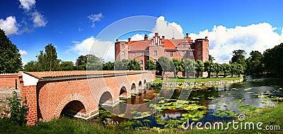 Castle manor house