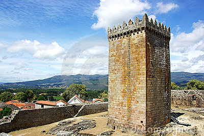 Castle of Melgaco , Portugal.