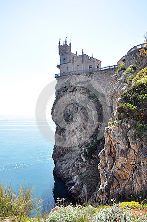 Castle near Yalta, Swallow nest