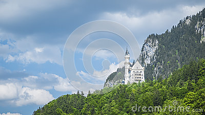 Castle Neuschwanstein Bavaria Germany