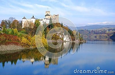 Castle in Niedzica. Poland