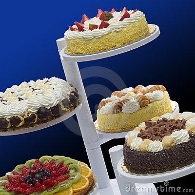 Free Castle Of Cakes Stock Images - 2008044