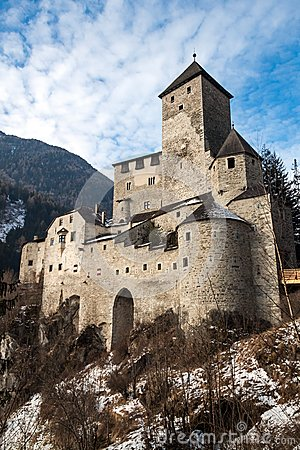 Free Castle Of Campo Tures Stock Photo - 28902030